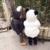 Venta caliente 2016 Invierno Niños Niño Niña Chaqueta de Dibujos Animados Panda de Manga Larga Con Cremallera Bebé Ropa Gruesa Caliente Chaqueta de Los Niños escudo