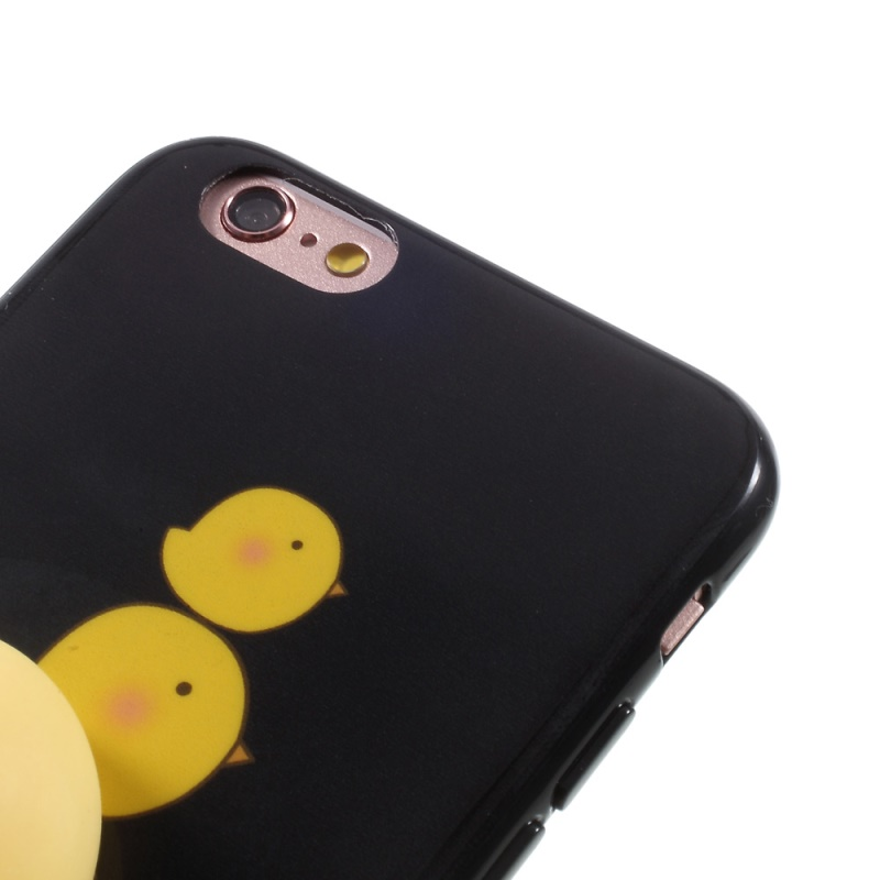Squishy Animals For Phone Case : 3D Chicken Squishy Case for iPhone