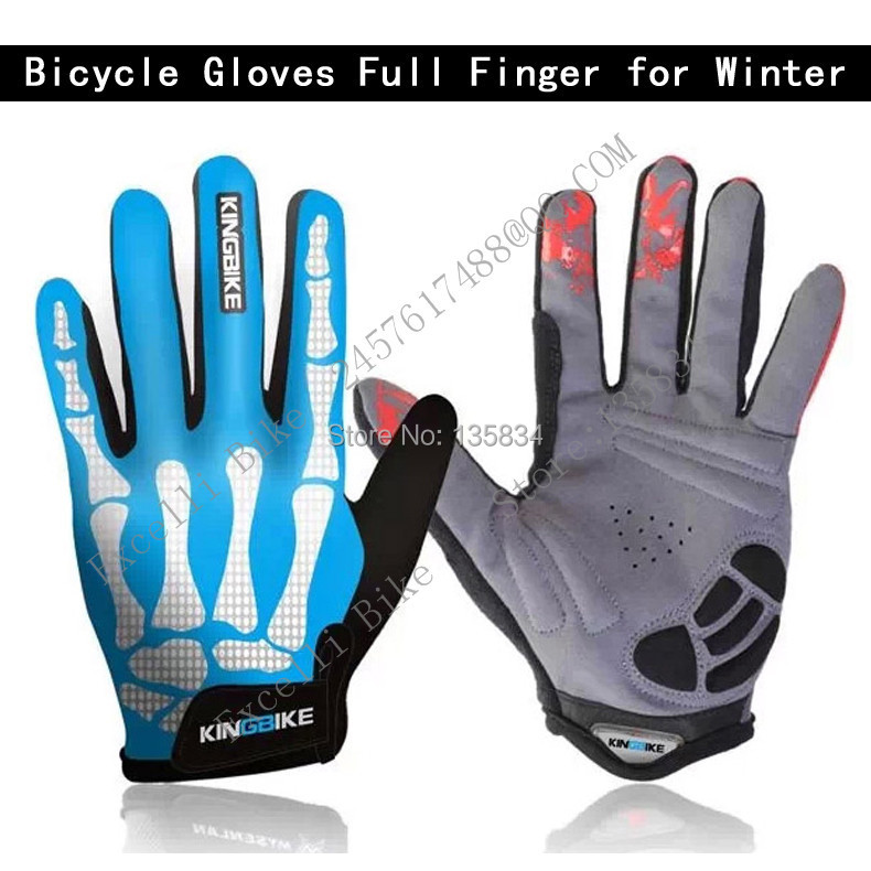 ФОТО Full Finger Bicycle Gloves Outdoor Extreme Sport Riding Dirt  Winter Luvas Para Ciclismo Motocross Bike Sled Snowboarding Gloves