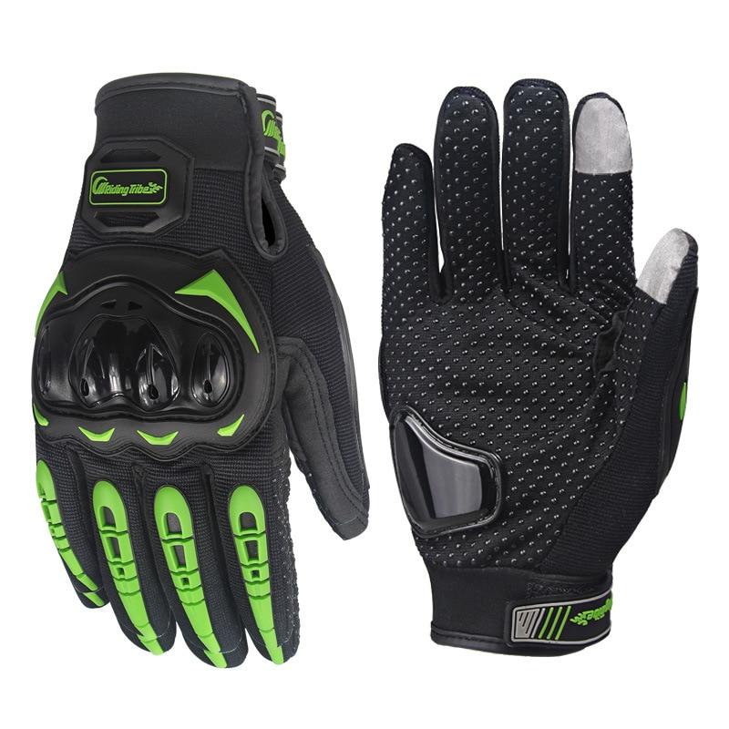 Motorrad Handschuhe Touchscreen Handschuh Leder Touchscreen Für Männer Motocross Radfahren Racing Guantes Moto Luvas da motocicleta