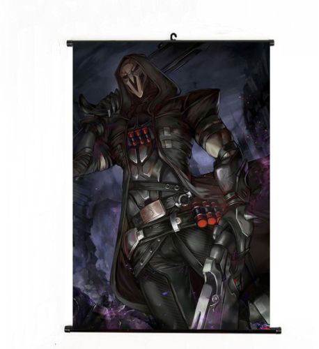 Anime Sword Art online Home Decor Japanese Poster Blizzard Game Overwatch Reaper