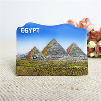 Resin Fridge Magnets Pyramid Of Khuf Egypt Tourism Souvenirs Refrigerator Magnetic Stickers Home Decorations