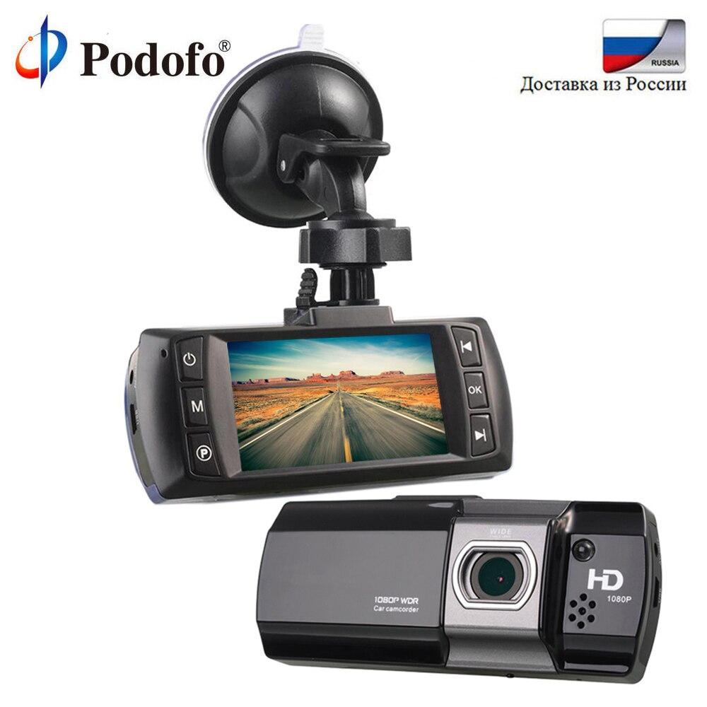 Podofo Car DVR Novatek 96650 AT500 Dashcam FHD 1080P Video Recorder Registrator Recorder Dash Cam G-Sensor WDR/Night Vision DVRs цена