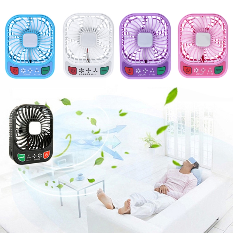 купить MEXI 1Set Mini Portable Hand Held Desk Fan Air Conditioning Cooler Cooling Fan USB Air Conditioning Appliances по цене 678.62 рублей