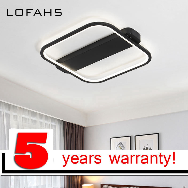 LOFAHS Modern Minimalism high brightness LED Chandelier Creative Bedroom Living Room Ceiling Chandelier lighting