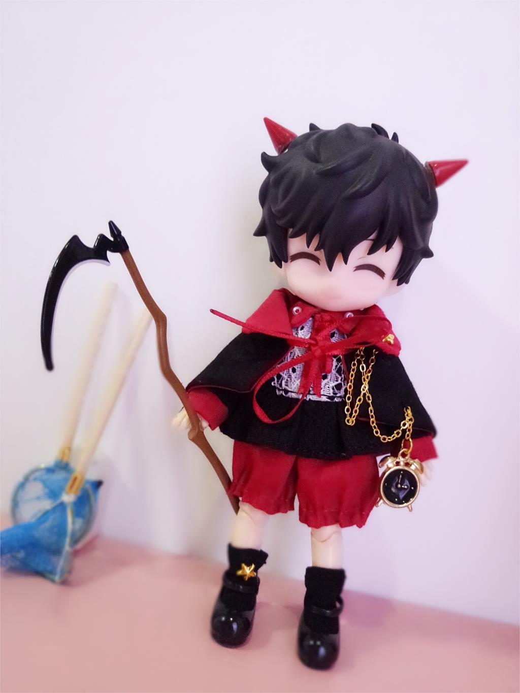 2019 ensemble de vêtements d'halloween pour Obitsu11 OB11 1/12 poupée OB11 poupée cgc molly disponible pour cu-poche OB11 accessoires poupée