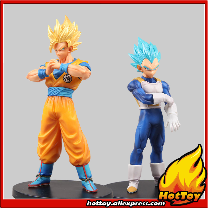 Banpresto DXF SUPER WARRIORS vol.5 Collection Figure - Super Saiyan God SS Vegeta + Super Saiyan 2 Son Goku Dragon Ball SUPER 32cm dragon ball super the super warriors vol 3 figure collection goku black action figure