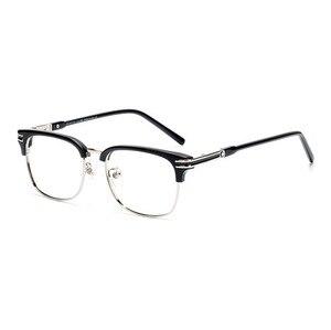 Viodream, пластик, титан, бизнес, мужские полуочки, ручная работа, оптические очки, оправа, роскошный бренд Mb669, очки Oculos