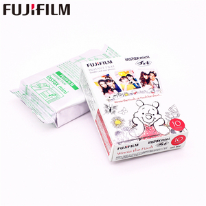 Image 5 - Fujifilm 10 sheets Instax Mini Winnie pooh honey bear Instant Film photo paper for Instax Mini 8 7s 25 50s 90 9 SP 1 SP 2 Camera