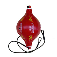 SUTENG Flame Pattern Boxing Speed Ball PU Leather Venting Boxing Ball Muay Thai Balloons Fight Response Elastic Balls