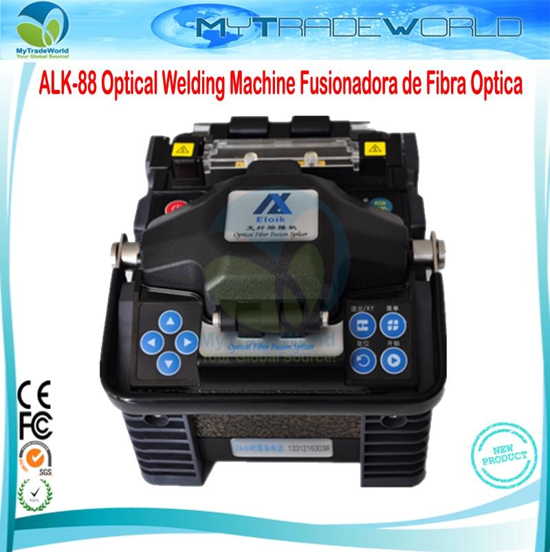 2019 beste Splicer Eloik ALK-88 Fiber Optic Setzmaschine Fusion Splicer Fusionadora de Fibra Optica