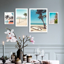 купить Landscape Canvas Painting Pictures Prints for Living Room Wall Posters Home Decoration Wall Art Unframed по цене 185.62 рублей