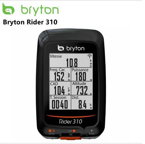 Bryton Rider 310 Activé GPS Étanche vélo vélo vélo sans fil compteur de vitesse vélo bord 200 500510 800810 mont