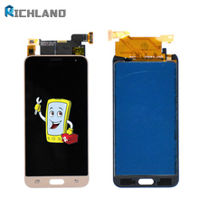 купить For SAMSUNG GALAXY J3 LCD J320 J320F SM-J320F Display Touch Screen Digitizer Assembly Replacement For SAMSUNG J3 LCD Highscreen онлайн