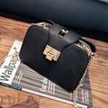 NUEVO Retro 3 Marca Capa Flap Bag Mujer Bolsa de Cadenas de Metal de La Manera Mujeres de Los Bolsos de Hombro Mensajero de Las Señoras Bolsos Crossbody