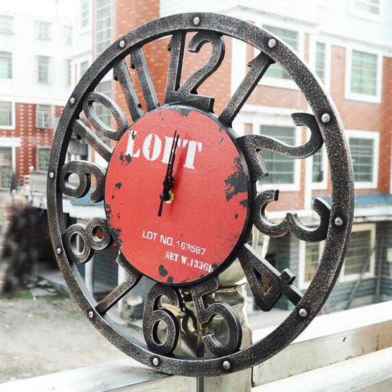 2017 zegar ścienny Saat Reloj zegar Relogio de parede duvar saati - Wystrój domu - Zdjęcie 4