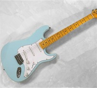 Electric guitar, freight free, st guitar, sky blue, customizable