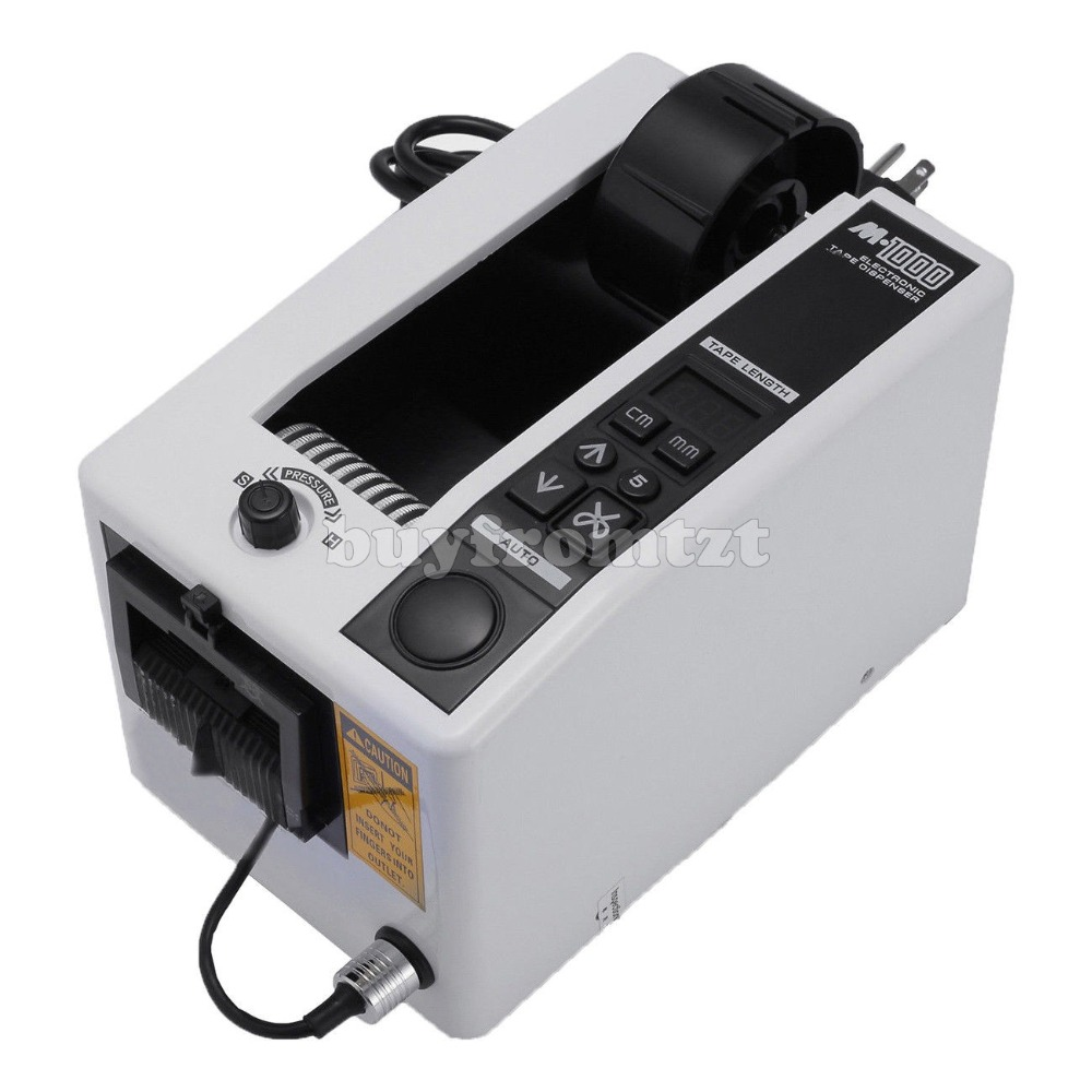 Automatic Auto Tape Dispensers Electric Adhesive Tape Cutter 18W 110V