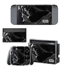 Star Wars Film Skin Sticker vinyl for NintendoSwitch Sticker Skin for Nintendo Nintendo Switch NS Console and Joy-Con Controller