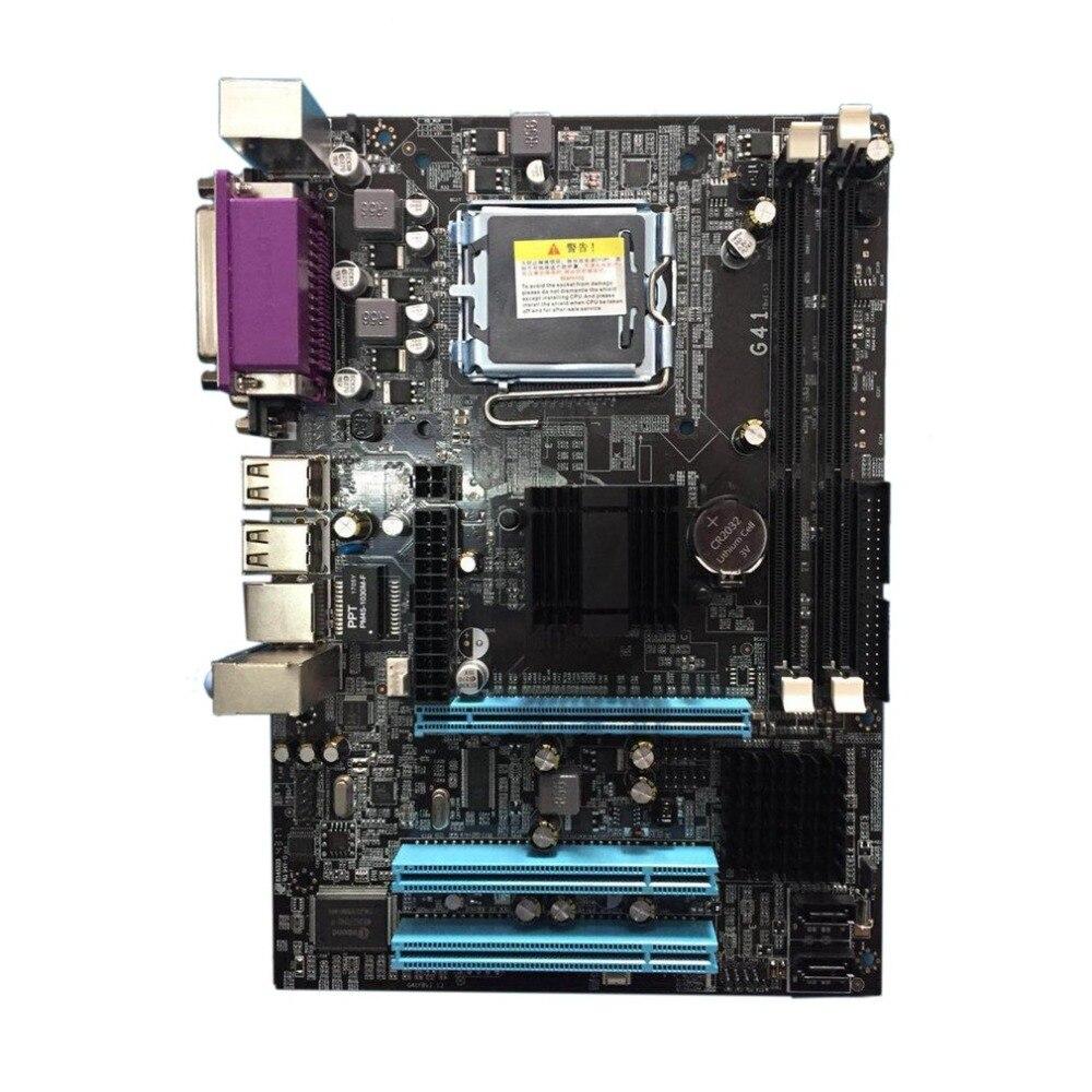 Материнская плата Процессор комплект с 4 ядра 2.66 г Процессор i5 core + 4 г памяти + вентилятор ATX настольного компьютера плата собрать набор Прямая доставка