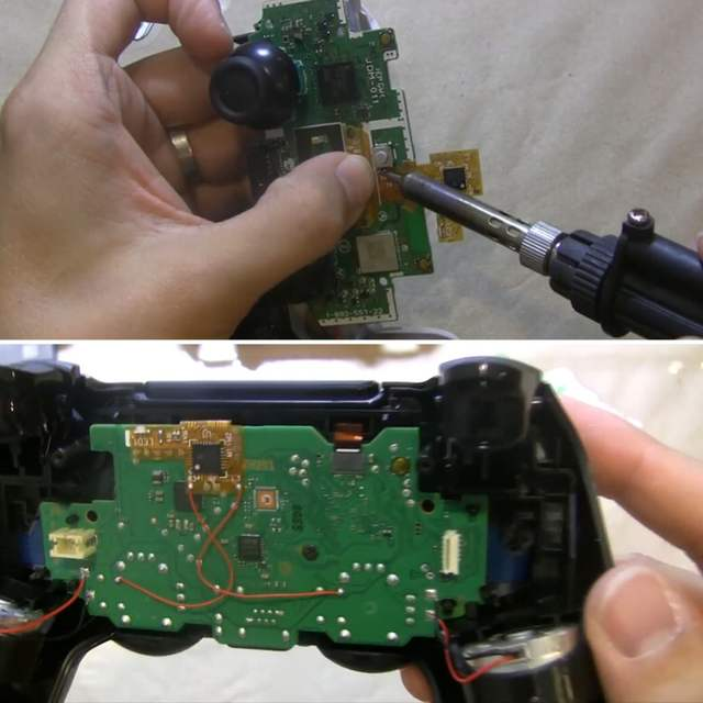 US $29 99 |for PS4 Controller Rapid Fire Game Controller DIY Mod Chip Board  for SONY PS4 Controller Gamepad V2 0 Rapid Fire-in Gamepads from Consumer