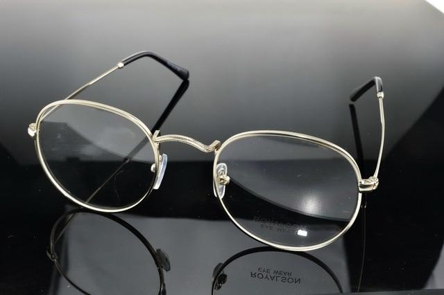 18e4d77822 Custom Made Progressive multifocal Bifocal prescription lens Eyeglasses See  Near Far Silver glasses frame spectacle +1To+6ADD