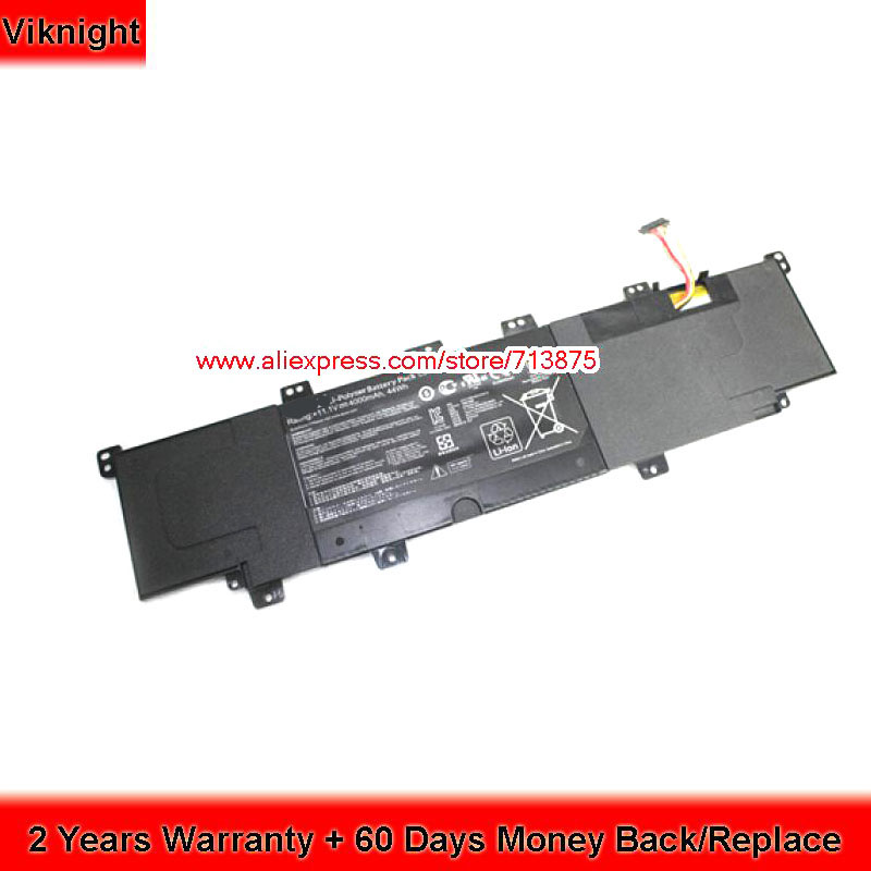 Genuine C31-X502 X502 Battery for Asus V500C 11.1V 44WH 4000mAh B200-00320200M
