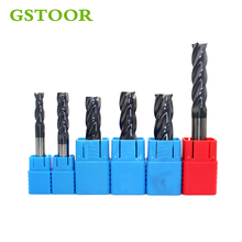 Milling Cutter 1PC 2mm 4mm 6mm Carbide Straight Shank 2F 3F 4F End Mill CNC Kit Power Tool Accessories