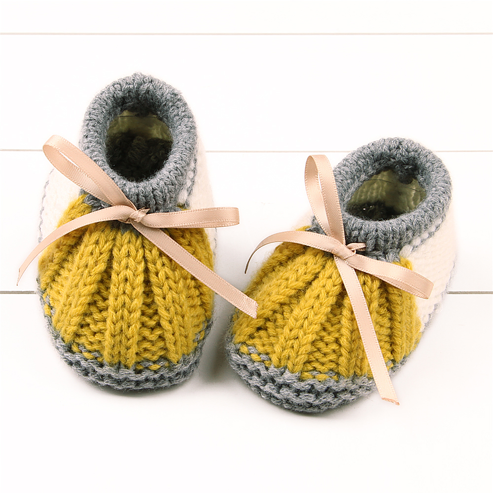ᗔNiño infantil Niñas Walker cuna Botas tejer primavera patrón bebé ...