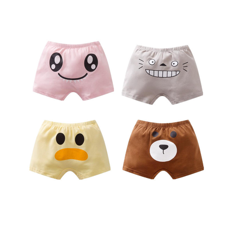 6PC Kids Boy Minions Cotton Underwear Triangle Undies Panties Bottoms 2-7years