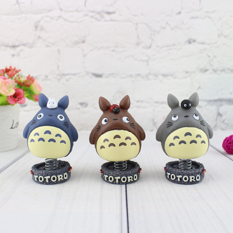 1 pcs Creative Totoro spring figure toy totoro action figurens doll juguete Christmas gift home car decor