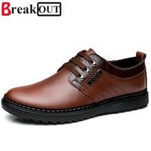 Romper Hombres Zapatos de Los Hombres Zapatos de Vestir de Negocios Formales Zapatos de Cuero Genuinos Transpirable Primavera Verano Hombres Oxfords