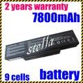 Jigu 9 células bateria do portátil para asus a72 k72 k73 n71 n73 x77 a32-k72 a32-n71