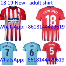7e32ce7db 2018 Thai football jerseys Quality Atleticoed Madrided soccer Jersey Shirts  ADULT suit Home Away 3RD(