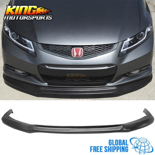 Fit For 12 13 Honda Civic Coupe 2 Door Ik Front Bumper Lip Chin Spoiler