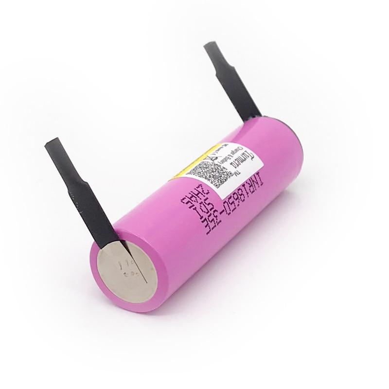 Turmera For samsung 18650 3500mAh 13A discharge INR18650 35E 18650 battery Li-ion 3.7v rechargable Battery for E-bike