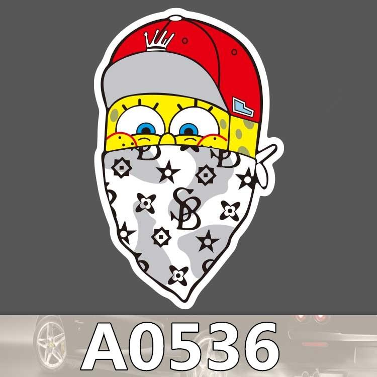 Online Get Cheap Spongebob Sticker Aliexpresscom Alibaba Group - Spongebob car decals