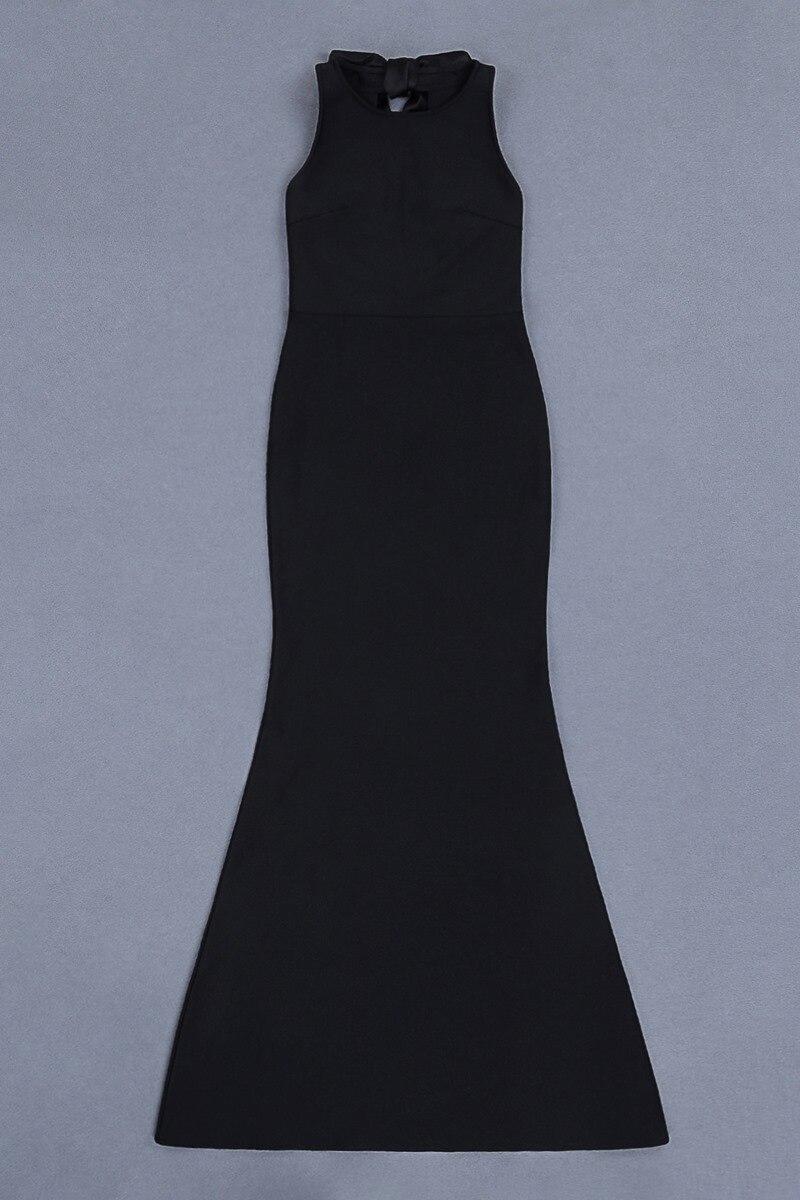 Qualité ligne Noir En Parti Femmes O D'été Blcak Genou Haute cou Gros longueur Du Robe Dropshipping Sexy A 2018 Hw1pEq8