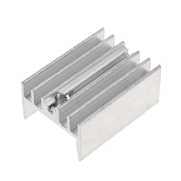 1PC New Aluminum Heatsink Heat Sink For TO-220 L780xCV Three Terminal Positive Voltage Regulator