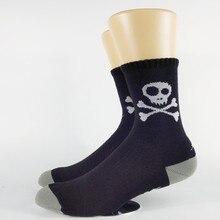 ФОТО men's skull mx bmx skate wool blend socks usa size 7-9, 10-12 europe size 40-42,43-45