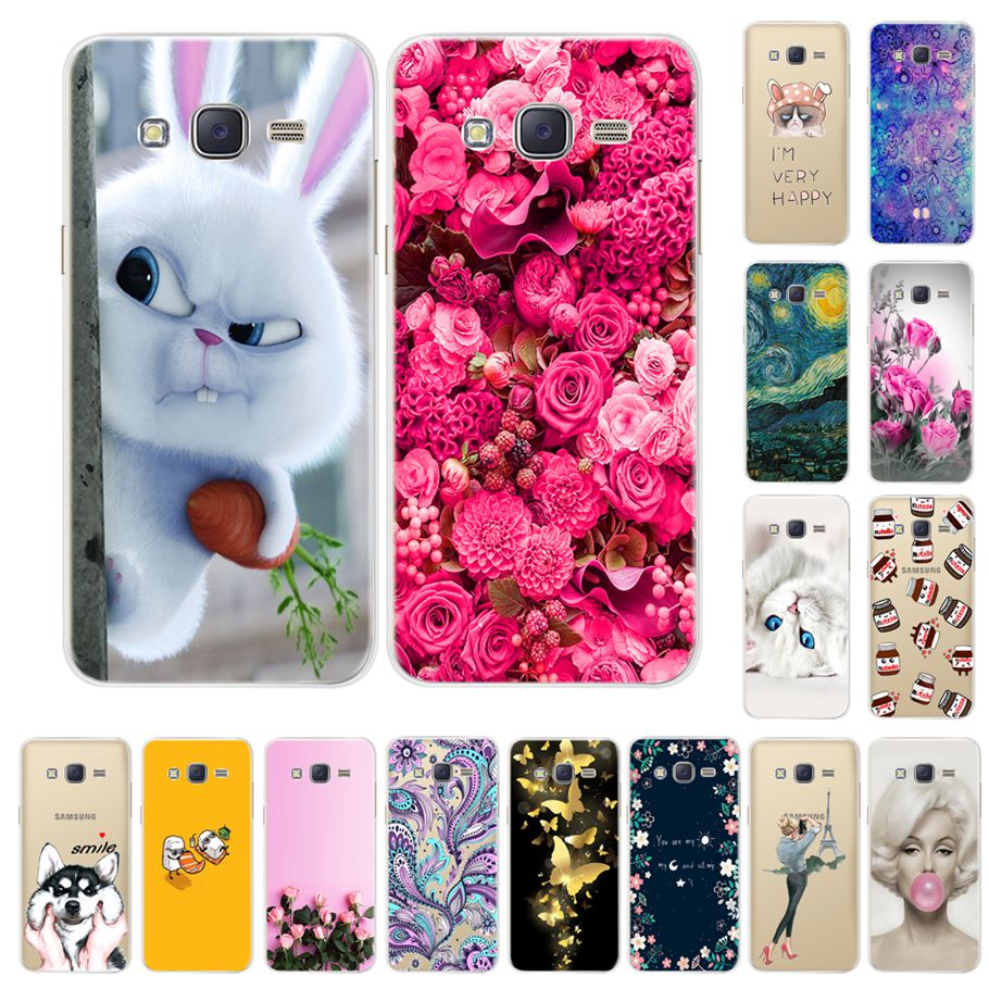 Galleria fotografica Fashion Cool Design Case For Samsung Galaxy J3 2016 J320 J320F J3109 Cover Soft Silicone TPU Cases For Samsung J3 2016 J320 Case