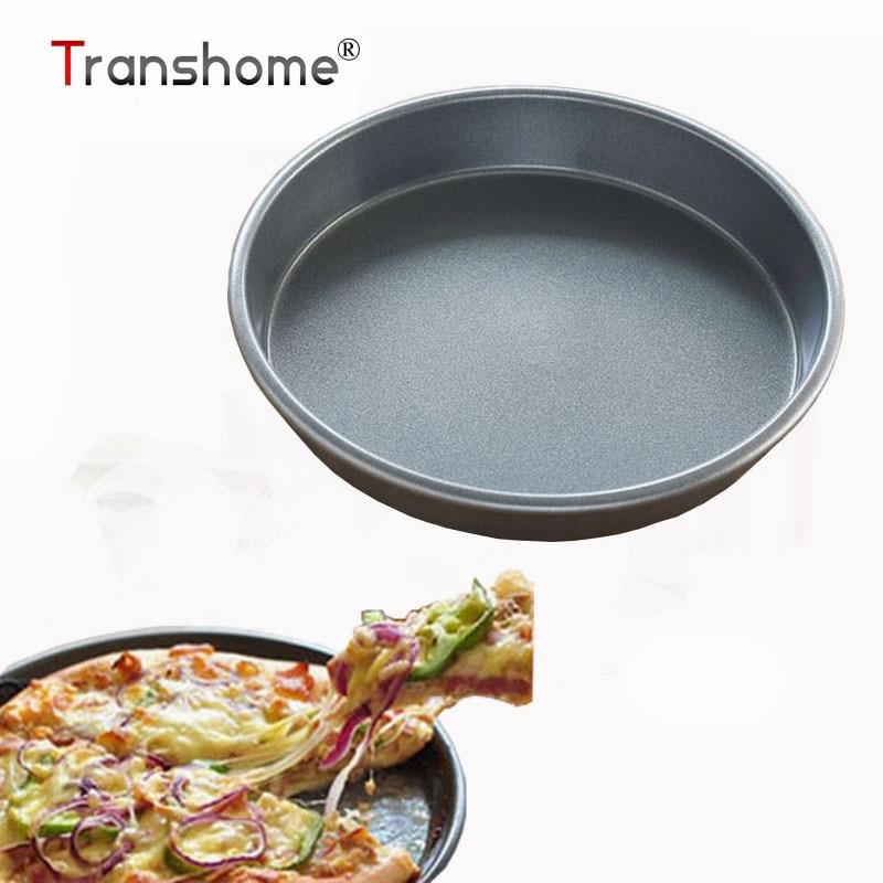 Transhome Non Stick Pizza Pan Baking Air Fryer Pan