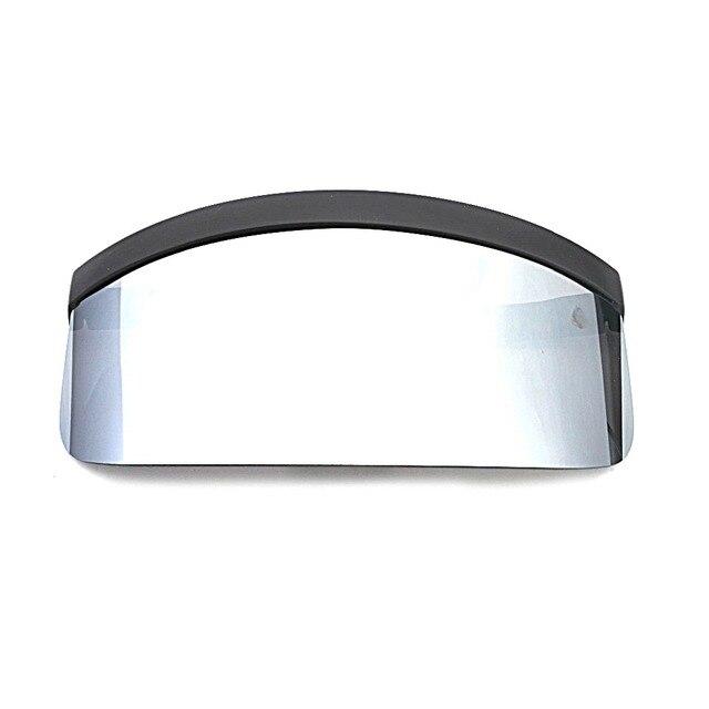 bd306d76bc MINCL/Negro gran tamaño gafas de sol hombres vintage 2018 una pieza lente  amarillo rojo