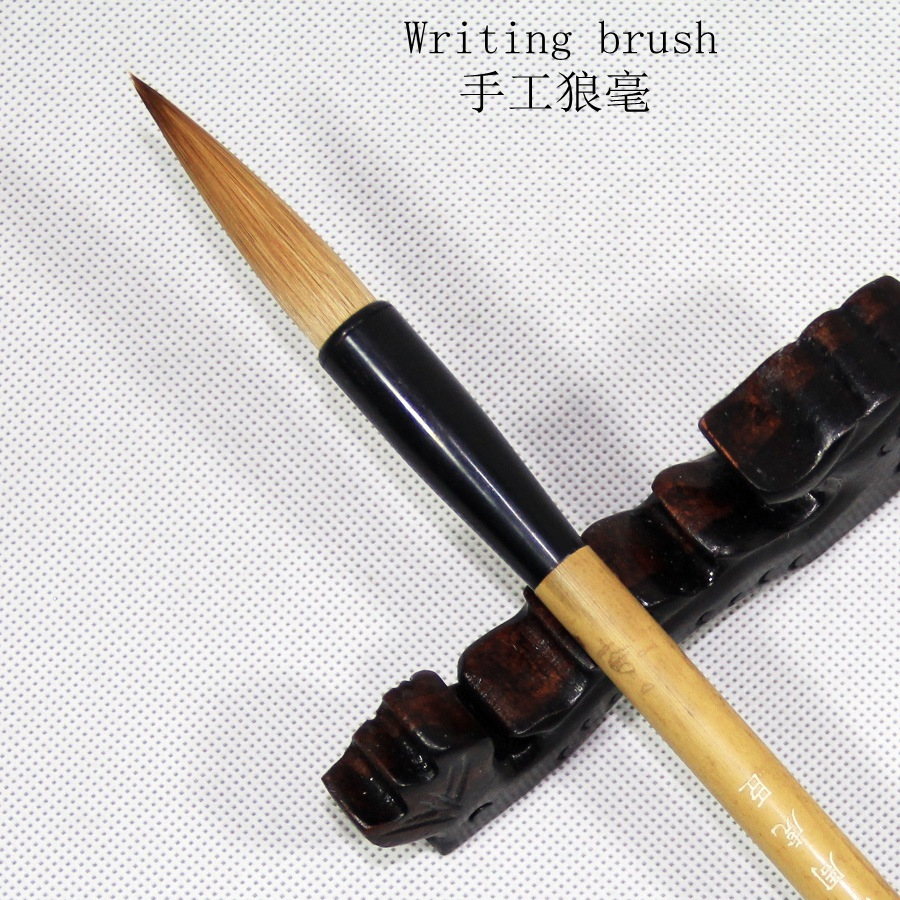 Weasel Hairs Chinese Calligraphy Brushes Pen Artist Painting Writing Drawing Brush Fit For Student School Stationery chinese traditional calligraphy brushes pen woolen and weasel hair multiple hairs writing brushes artist drawing copybook suit