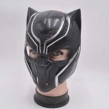 New Black Panther Masks Superhero Movie Cosplay Costume Full Masks  Halloween Masquerade Party PropsWholesale стоимость