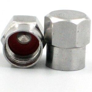 Image 2 - 50 шт. хромированные латунные шлицевые колпачки на клапан
