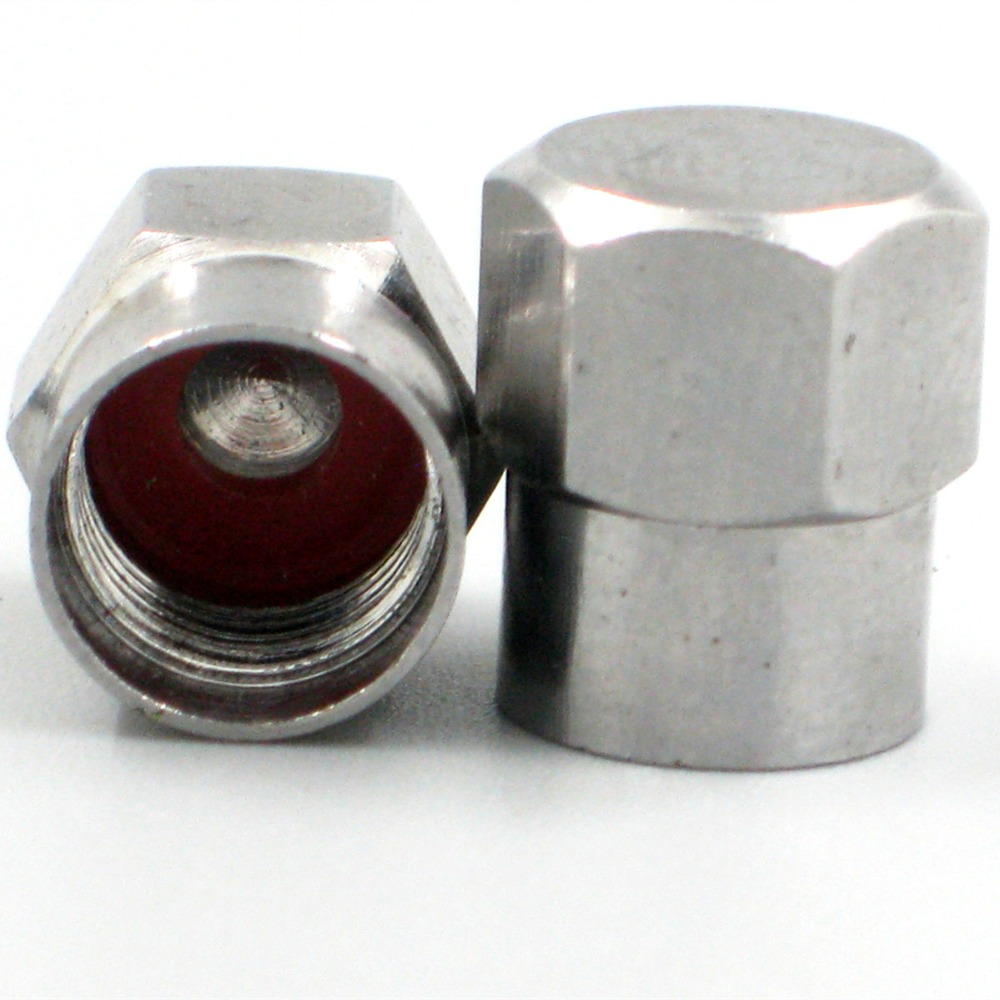 Image 2 - 50pc Chrome brass Slotted Head Valve Stem Caps-in Tire Accessories from Automobiles & Motorcycles