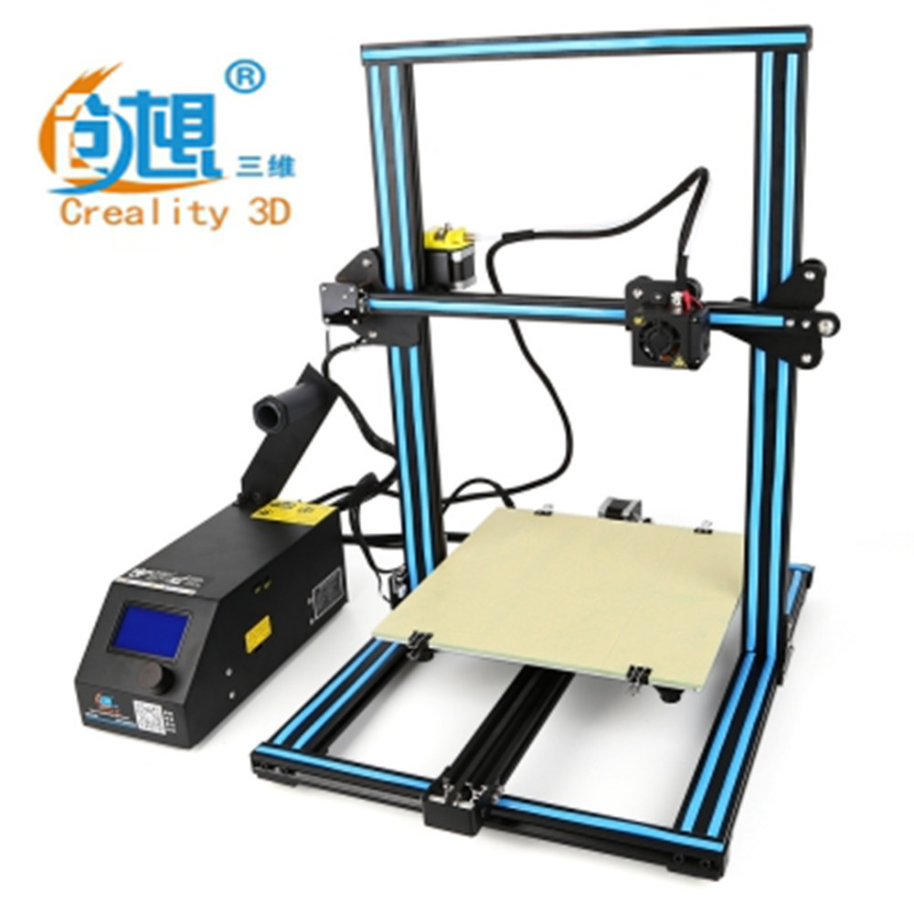 Creality 3D Cr-10 Large Size Desktop DIY Printer 150 mm/s LCD Screen Display with SD Card Off-line Printing Function