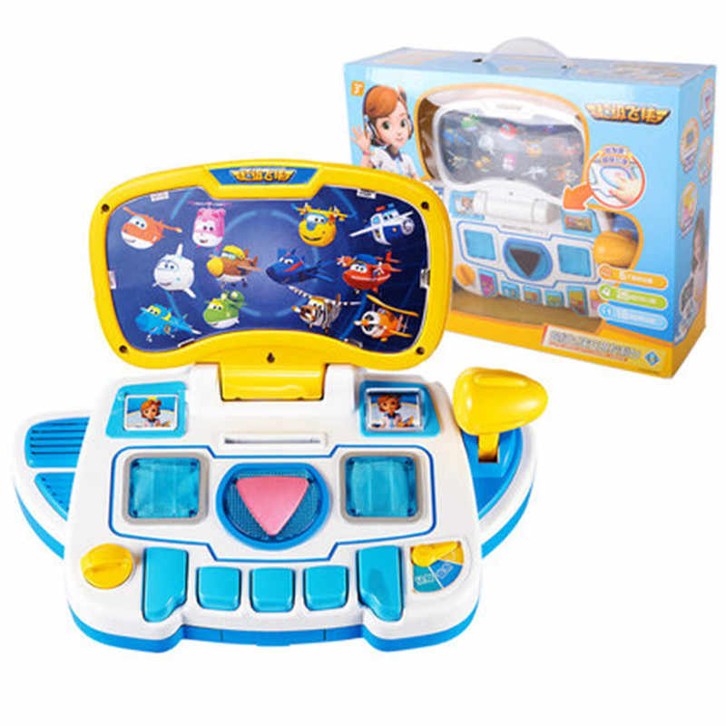 HOT !!! Super Wings center control with Planes Action Figures toy for Children Transformation as Christmas Gifts