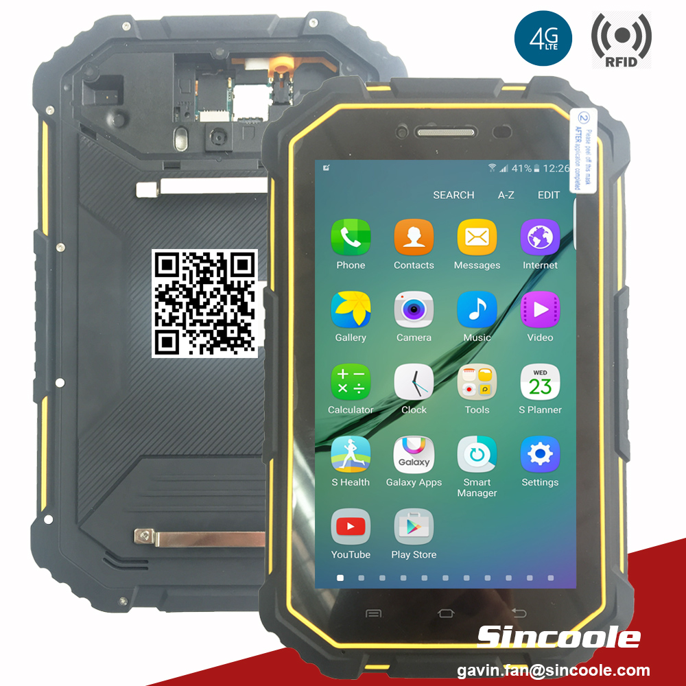 7  Inch 4G LTE 2GB 16GB Android 6.0 Rugged Tablets And Tough Pad